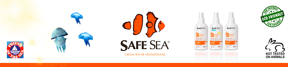 SAFE SEA Cremas Solares Antimedusas
