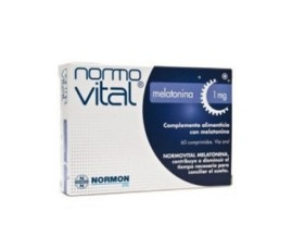 Comprar Normovital Melatonina 1mg 60comp