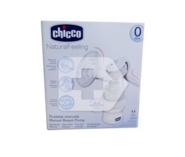 Comprar Chicco sacaleches Natural Feeling Manual 0m+ con tetina de silicona 1ud
