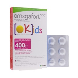 Comprar Omegafort Kids 30 gominolas