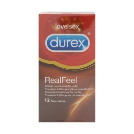 Comprar Durex Sensitivo Real Feel 12uds