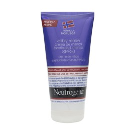 Comprar Neutrogena Visibly Renew SPF20+ crema de manos 75ml