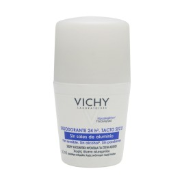 Comprar Vichy desodorante 24h sin aluminio roll on 50ml