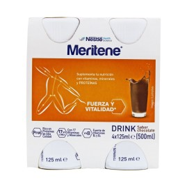 Comprar Meritene Drink chocolate 125ml x 4botellas
