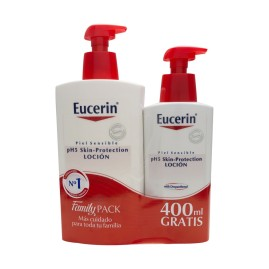 Comprar Eucerin Family Pack pH5 Skin-Protection Loción 1l + 400ml