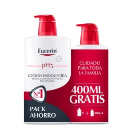 Comprar Eucerin Family Pack pH5 Skin-Protection Loción Enriquecida 1l + 400ml
