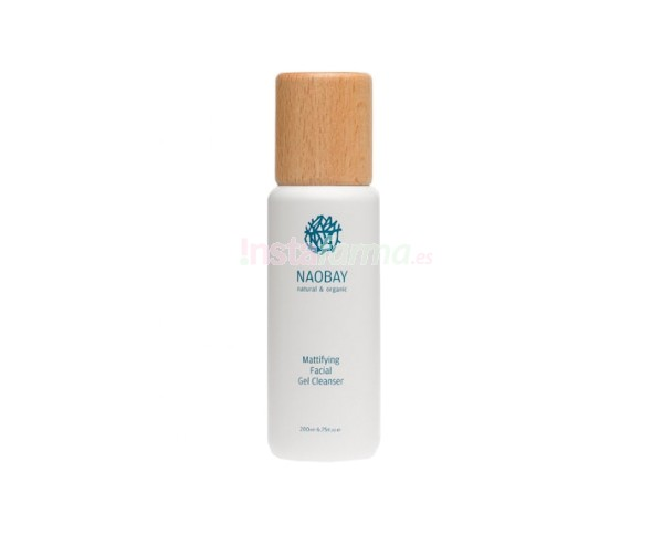 Naobay Mattifying Facial Gel Cleanser 200ml