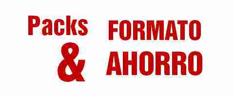 packs y formatos ahorro